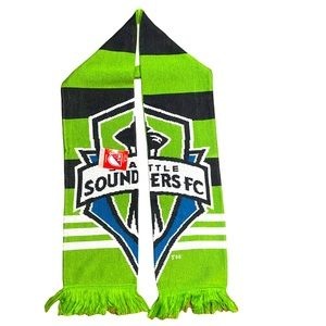 Adidas Seattle Sounders Soccer Team Scarf